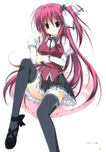 Rating: Safe Score: 25 Tags: korie_riko orangelo_machina seifuku thighhighs tsuki_tsuki! User: fireattack