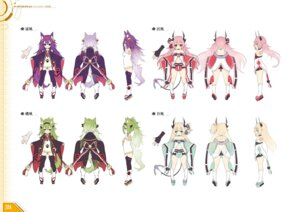 Rating: Safe Score: 7 Tags: animal_ears azur_lane character_design horns tagme tail thighhighs User: Twinsenzw