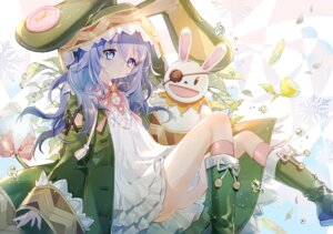 Rating: Safe Score: 28 Tags: animal_ears bunny_ears date_a_live dress skirt_lift tail yoshino_(date_a_live) yuzhi User: Mr_GT