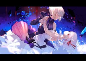 Rating: Safe Score: 45 Tags: dark_sakura dress fate/stay_night joseph_lee saber saber_alter tattoo User: Mr_GT
