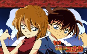 Rating: Safe Score: 3 Tags: bison detective_conan edogawa_conan haibara_ai megane wallpaper User: charunetra