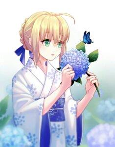 Rating: Safe Score: 18 Tags: chi-ya fate/grand_order fate/stay_night kimono saber User: mash