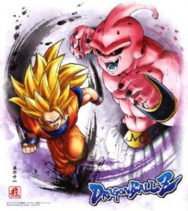 Rating: Safe Score: 5 Tags: dragon_ball dragon_ball_z majin_buu male son_goku topless uniform User: drop