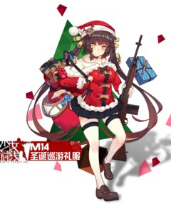 Rating: Safe Score: 34 Tags: christmas girls_frontline gun rain_lan seifuku thighhighs User: WtfCakes