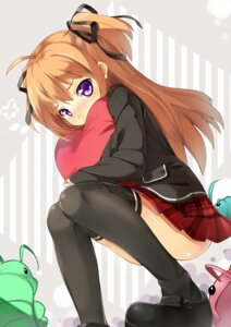 Rating: Safe Score: 61 Tags: kaede_(artist) seifuku tachibana_karen_(peco) thighhighs User: Injection