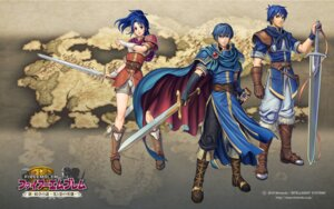 Rating: Safe Score: 7 Tags: armor dress fire_emblem fire_emblem:_shin_monshou_no_nazo izuka_daisuke marth my_unit_(onna) my_unit_(otoko) nintendo sword wallpaper User: fly24