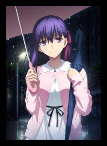Rating: Safe Score: 46 Tags: dress fate/stay_night matou_sakura sweater umbrella User: kiyoe