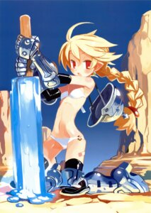 Rating: Safe Score: 37 Tags: armor bikini harada_takehito swimsuits thighhighs User: Radioactive