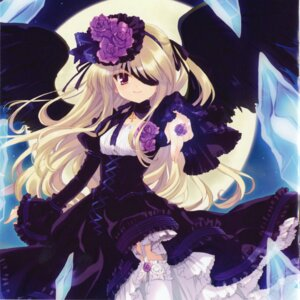 Rating: Safe Score: 25 Tags: cropme eyepatch gothic_lolita lolita_fashion ohara_tometa stockings thighhighs wings User: 清宫真结希