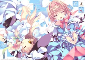Rating: Safe Score: 25 Tags: alice_margatroid blue_hallelujah kirisame_marisa touhou User: blooregardo
