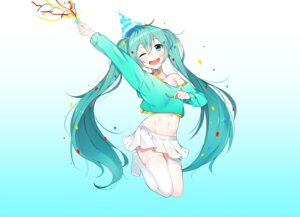 Rating: Safe Score: 38 Tags: bikini_top hatsune_miku the_cold thighhighs vocaloid User: Mr_GT