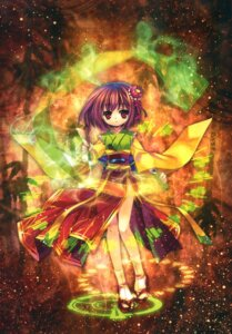 Rating: Safe Score: 22 Tags: capura.l hieda_no_akyuu touhou User: Jack·Bauer