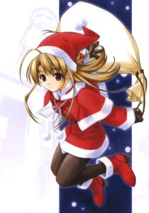 Rating: Safe Score: 14 Tags: christmas hashimoto_takashi pantyhose pia_carrot takai_sayaka User: androgyne