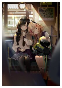 Rating: Safe Score: 34 Tags: bsue eyepatch girls_frontline m16a1_(girls_frontline) m4_sopmod_ii_(girls_frontline) pantyhose seifuku User: Dreista