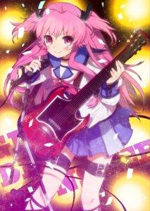 Rating: Safe Score: 19 Tags: angel_beats! guitar kippu seifuku tail yui_(angel_beats!) User: Ponnkun