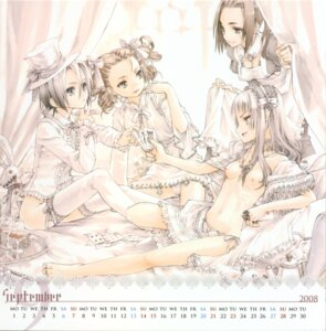 Rating: Questionable Score: 21 Tags: bottomless calendar konoe_ototsugu lolita_fashion nipples pantsu User: petopeto