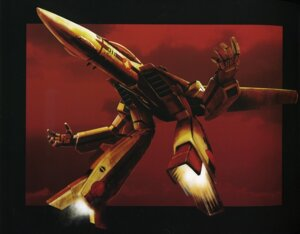 Rating: Safe Score: 5 Tags: binding_discoloration macross mecha tenjin_hidetaka User: oldwrench