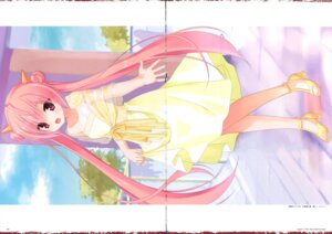 Rating: Safe Score: 25 Tags: crease dress heels hidan_no_aria kanzaki_h_aria kobuichi see_through skirt_lift User: Twinsenzw