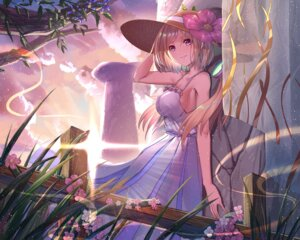 Rating: Safe Score: 34 Tags: aki_rosenthal cleavage dress hololive summer_dress ten_no_hoshi User: charunetra