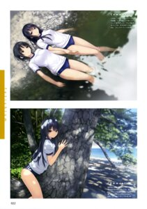 Rating: Questionable Score: 34 Tags: aoyama_sumika buruma coffee-kizoku gym_uniform shiramine_rika wet yuri User: drop