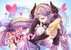 Rating: Questionable Score: 12 Tags: cleavage granblue_fantasy horns jeffrey10 narumeia_(granblue_fantasy) no_bra open_shirt pointy_ears tagme valentine User: Mr_GT