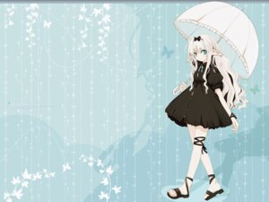Rating: Safe Score: 16 Tags: dress elf i.s.w pointy_ears takaharu umbrella wallpaper User: hirotn