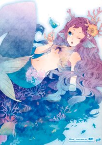 Rating: Questionable Score: 22 Tags: kuroyuki mermaid underboob User: Hatsukoi