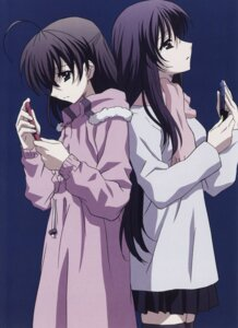 Rating: Safe Score: 11 Tags: katsura_kotonoha saionji_sekai school_days User: Radioactive