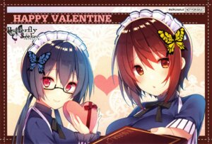 Rating: Safe Score: 18 Tags: butterfly_seeker hatori_piyoko maid megane silky's_plus_a5_wagyuu valentine User: tsukumoyo