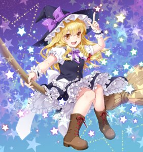 Rating: Safe Score: 36 Tags: kirisame_marisa kuronohana touhou witch User: Mr_GT