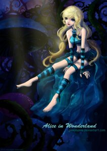 Rating: Safe Score: 10 Tags: alice alice_in_wonderland jinkimania watermark User: charunetra