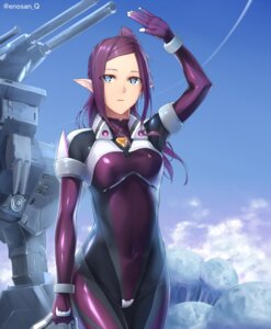 Rating: Safe Score: 51 Tags: bodysuit enosan macross_delta mirage_farina_jenius pointy_ears User: Radioactive