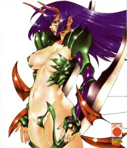 Rating: Questionable Score: 16 Tags: cleavage sumita_kazasa witchblade witchblade_takeru User: Davison
