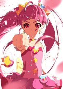 Rating: Safe Score: 16 Tags: dress eriko hoshina_hikaru star_twinkle_precure wings User: charunetra