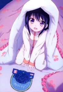 Rating: Safe Score: 89 Tags: charlotte otosaka_ayumi pajama satou_youko sheets User: drop