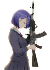 Rating: Safe Score: 18 Tags: gun nijisanji seifuku shizuka_rin suzuki-shi sweater User: Sakuya_Wakase