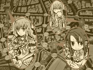 Rating: Safe Score: 5 Tags: akira_(kaned_fools) angelica_derleth charlotte_bronte mary_clarissa_christie monochrome shikkoku_no_sharnoth wallpaper User: Devard