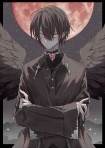 Rating: Safe Score: 7 Tags: male pointy_ears tagme wings User: charunetra