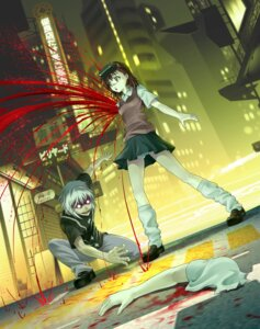 Rating: Questionable Score: 21 Tags: accelerator blood guro misaka_imouto misakamitoko0903 pantsu shimapan to_aru_majutsu_no_index User: Radioactive