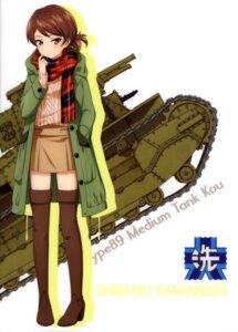 Rating: Safe Score: 9 Tags: girls_und_panzer heels kawanishi_shinobu sweater tagme thighhighs User: drop