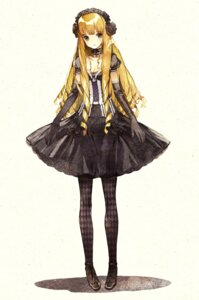 Rating: Safe Score: 28 Tags: gothic_lolita lolita_fashion mugishirako pantyhose User: yumichi-sama