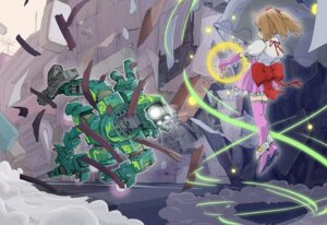 Rating: Safe Score: 7 Tags: mecha sukabu thighhighs User: Radioactive