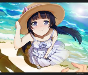 Rating: Safe Score: 82 Tags: dress gokou_ruri kazufumi ore_no_imouto_ga_konnani_kawaii_wake_ga_nai summer_dress User: hei629