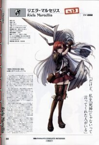 Rating: Safe Score: 3 Tags: bleed_through scanning_dust senjou_no_valkyria_3 tagme thighhighs uniform valkyrie_profile weapon User: Radioactive