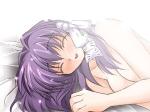 Rating: Questionable Score: 10 Tags: clannad fujibayashi_kyou naked wallpaper watsuki_ayamo watsukiya User: Radioactive
