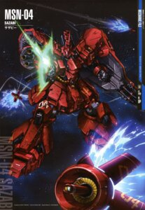 Rating: Safe Score: 13 Tags: char's_counterattack gundam mecha sazabi teraoka_iwao User: zephyranthes