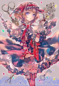 Rating: Safe Score: 27 Tags: alice_margatroid cha_goma dress thighhighs touhou User: charunetra