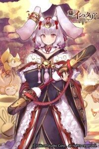 Rating: Safe Score: 35 Tags: animal_ears bunny_ears japanese_clothes koku_no_ishtaria weapon yaman User: nphuongsun93