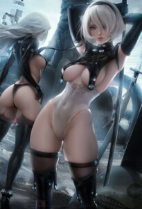 Rating: Questionable Score: 116 Tags: ass cosplay gantz heels nier_automata no_bra official_watermark pantsu sakimichan thighhighs thong yorha_no.2_type_b yorha_type_a_no._2 User: BattlequeenYume