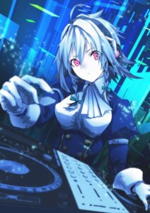 Rating: Safe Score: 40 Tags: headphones izayoi_sakuya mephist-pheles touhou User: charunetra